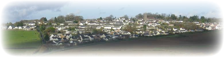 View of Winkleigh village